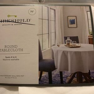 Threshold Dining - Threshold-Round tablecloth